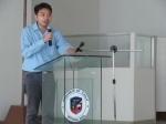 Kabataan Partylist Rep. Mong Palatino gives an update on the status of the proposed 2012 national budget.