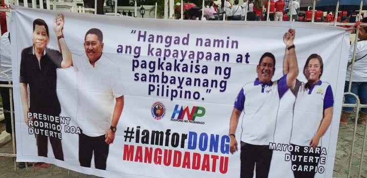 Dong Mangudadato, KP